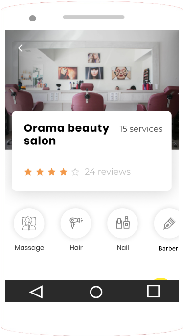 On-demand beauty services
